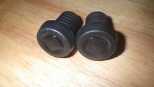 WE THE PEOPLE BAR END PLUGS FOR BMX, NEW, BLACK
