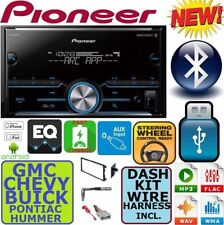 FITS CHEVY-GMC TRUCK-VAN-SUV Bluetooth Usb Radio Stereo Double Din Dash Kit