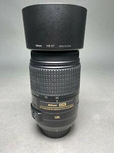 Nikon DX AF-S Nikkor 55-300mm Lens with Nikon HB-57 Lens Hood