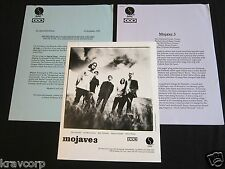 MOJAVE 3 'OUT OF TUNE' 1998 PRESS KIT--PHOTO