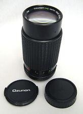 Ozunon MC Auto Telephoto Zoom Lens 75-200mm f 4.5 Pentax KA Mount Caps Box