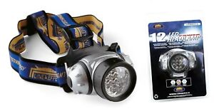 2 x CARP FISHING LED Head Lamp Torch For Bivvy Camping Bike Dog Walking