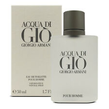 Armani Aqua Di Gio 50mL 1.7 oz spray bottle Men's Eau de Toilette **Brand New**