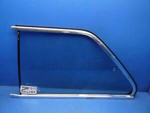 84-91 BMW 325E E30 OEM REAR Left side corner window glass coupe *Scratches