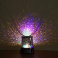 LED Starry Night Sky Galaxy Projector Lamp Star Romantic Cosmos New Light C6J9