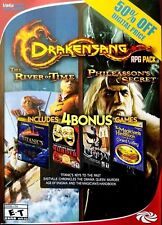 Drakensang RPG Pack River of Time Phileassons Secret & 4 Bonus PC BRAND NEW SEAL
