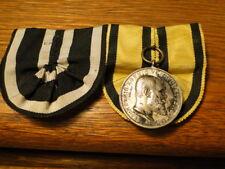 German WWI  medal bar - orig ribbon : IRON cross - King of Wuttemberg