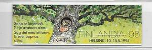 Finland - 1993 - 5m Birds folded booklet  - unmounted mint