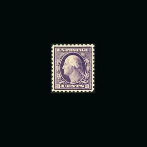 US Stamp Regular Issues Mint OG & H, XF S#464  lightly hinged, large margins