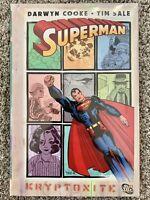 Superman KRYPTONITE DC Comics Hardcover BRAND NEW SEALED