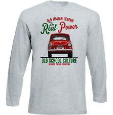 Vintage Italian voiture FIAT 800-Nouveau T-shirt en coton