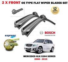 pour Mercedes GLK X204 2008-2015 NOUVEAU x 2 AVANT balais essuie-glace plats SET