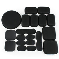 19x Black Safety EVA Helmet Pads Tactical Military Helmet Protective Pads