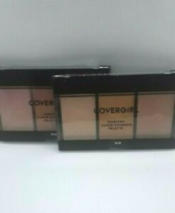 Lot of 2 COVERGIRL Trublend Super Stunner Highlight Palette # 510 Glowing Up