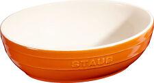 Staub Ceramica Ciotola Set insalata 2 pz. frutta ovale Arancione 23 & 27c