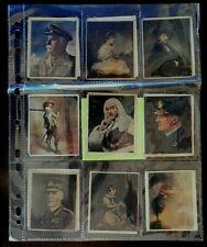 R J Hill Cigarette Cards -Silks, Canvas Masterpieces, Part Set 16 of 40, 1916.