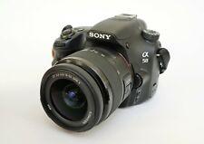 Sony Alpha A58 Camera, 20MP, A Mount, 18-55mm SAM II Lens, Lowepro Nova 17 Bag