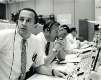 CHARLIE DUKE JIM LOVELL & FRED HAISE CAPCOM APOLLO 11 - 8X10 NASA PHOTO (BB-757)