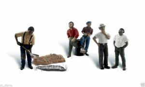 Woodland Scenics Scenic Accents One Man Crew Figures Set N Scale