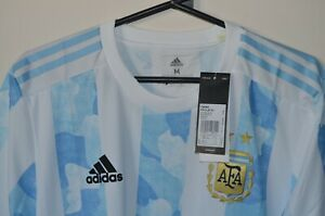 ARGENTINA 2021 Home HEAT.RDY Authentic PLAYERS Jersey COPA AMERICA MESSI Shirt !