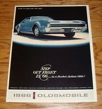 Original 1966 Oldsmobile Full Line Sales Brochure 66 Toronado Cutlass F-85