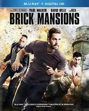 BRICK MANSIONS BLURAY & DIGITAL COPY PAUL WALKER DAVID BELLE RZA