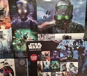 Star wars Rogue One X-Large 49cm x 68cm, Jigsaw. As new, original poster include