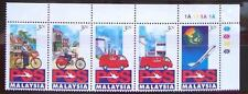 1992 MALAYSIA LAUNCH OF POS MALAYSIA BERHAD (5v) MNH