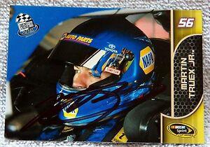 Nacar Star Martin Truex Jr. Signed 2011 Press Pass Card Auto