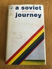 A SOVIET JOURNEY by ALEX LA GUMA - PROGRESS PUBLISHERS - H/B D/W
