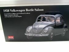 + VOLKSWAGEN VW Käfer 1200 Brezel grau in 1:12  Sunstar 1950 NEU 5202