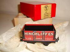 Trix (TTR) -  607 -7plank P.O.open wagon(Hinchliffes Coals)mint/boxed- post-war