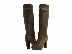 New $358 Frye Women Riding MIMI  Fashion Knee-High leather boots 10