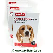 Ungezieferband Hund gegen Flöhe + Zecken - 3 Packungen - von Beaphar (Flohband)