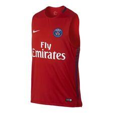Nike PSG Breath Squad Sleeveless Boys Training Top Medium Red RRP £38.95