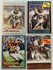 CLINTON PORTIS AND LAVAAR ARRINGTON 4 CARD LOT (1) ROOKIE (2) ARE # WFT. rookie card picture
