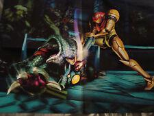 Metroid Poster 14 x 20 Two-sided nintendo tecmo team ninja rare folded