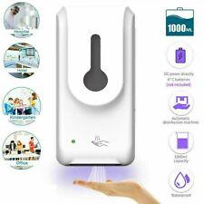 1000ML Touchless Automatic Soap Dispenser IR Sensor Mist Spray Hand Disinfection