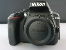 Nikon D5300 24.2MP Digital SLR Camera - Black (Body Only) LOW SHUTTER COUNT!