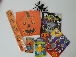Halloween 7 Items Activity Pack Party bag Fillers Gift Toys SMALL Trick or Treat