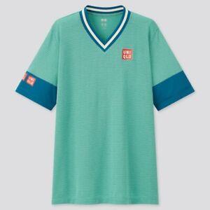 Uniqlo Kei Nishikori Dry EX T-shirt Short Sleeve & Shorts 21 US Open Tennis New