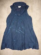 Diesel size M medium navy shirt sleeveless dress A line