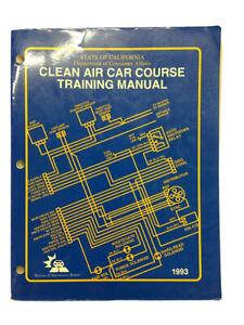 California Clean Air Car Course Training Manual Book 1993