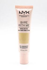 NYX Bare With Me Tinted Skin Veil BB Cream 27ml Vanilla Nude - NEW