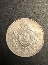 Mexico Emperor Maximilian 1866 Peso Silver Coin