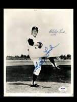Whitey Ford PSA DNA Coa Hand Signed Vintage 8x10 Photo Yankees Autograph