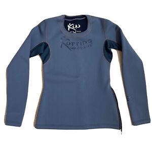 Kutting Weight Women's Long Sleeve Sauna Top Shirt Neoprene Sz S Gray PERFECT