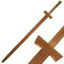 "48"" WOOD MARTIAL ARTS TAI CHI JUNG FU TRAINING PRACTICE SWORD Asian Chinese"