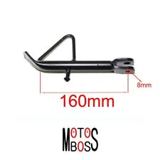 160mm Side Stand/Kick Stand/Spring/ Nut GY6 Scooter Moped 50 80 125 150cc Parts