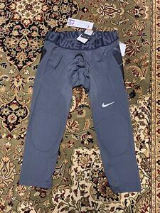 Nike Pro HyperStrong Baseball Slider Pants Grey Black 807852-060 Mens SIze XXL